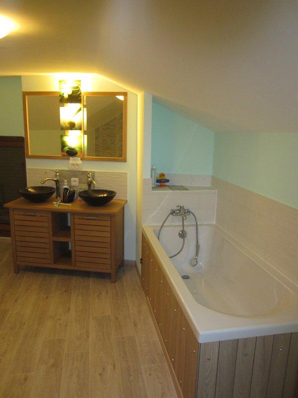 Rénovation De SdB Salle De Bain Agencement Aménagement - Salle de bain vannes